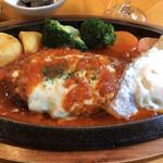 びすとろ 風露 - 料理写真:イタリアンハンバーグ♡
