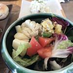 さかいキッチン - ランチビュッフェのサラダ