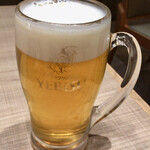 ロンフービストロ - エビス生ビール