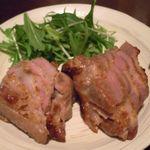 いざかや メネフネ - 豚肉の粕漬焼