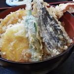 丸福 - 丸福の天丼(12.03)
