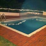 12496550 - お店から見える夜景、プールもあります