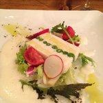 レランデヴード トキオ - 桜鯛と新玉ねぎのテリーヌ