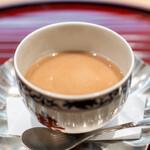 青華こばやし - 栗の茶碗蒸し
