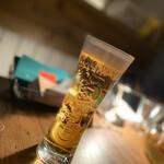 Cafe garage Dogberry - 生ビール