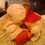 ミック - あまおうアイスクリーム650円