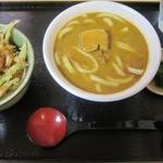 12497976 - カレーうどん 1000円 ミニ天丼350円