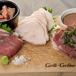 肉酒場Grill-Griller-Grillest - 肉刺 4種盛