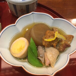 京の鳥どころ 八起庵 - 炊き合わせ