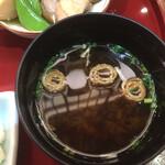 京の鳥どころ 八起庵 - 味噌汁