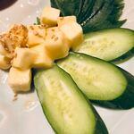 縁の郷 - クリームチーズの味噌漬け