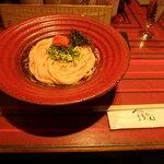 つるとんたん - 明太子のおうどん(温)2玉¥1,380