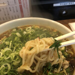 広島風冷しつけ麺・楽 -