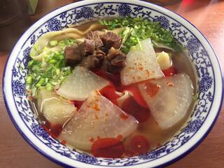 蘭州料理 ザムザムの泉 - 牛大(蘭州牛肉麺)