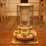 カフェクアラ - 寒い日はブルーフレームの炎が灯ります
