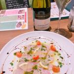 Meat & Wine イタリアンバールDari - スズキのカルパッチョ