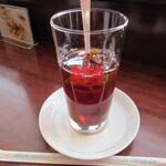 イノダコーヒ - アイスティー(ストレート&有糖)