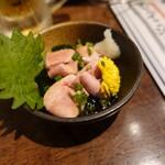 立呑み 魚椿 - 白子(390円)