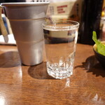立呑み 魚椿 - 冷酒半田郷(390円
