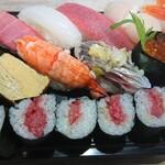 豊寿司 - 料理写真:上寿司にぎり 1,5人前  1200円