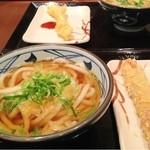 丸亀製麺 - かけ&ちくわ天