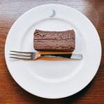 ムーン ファクトリー コーヒー - チョコケーキ