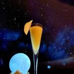 プラネタリウム BAR - 洋梨のフレッシュフルーツカクテル