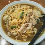 麺飯菜館 じょうじょう - 料理写真:ローメン!!あんかけスパゲティみたい。長野県伊那市のB級グルメらしい。