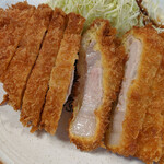 とんかつ武蔵 - とんかつランチ 1,000円(税込み)