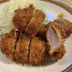 とんかつ武蔵 - ヒレカツランチ 1,000円(税込み)