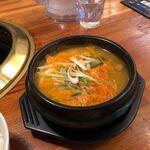 焼肉ぱんが - 純豆腐チゲ