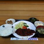 まるふじ - 料理写真:ソースかつ定食