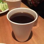 125010085 - 平日限定ワンドリンクサービスのコーヒー