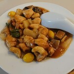 大勝軒 - 鶏とカシューナッツ