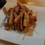 大勝軒 - シナチク焼豚