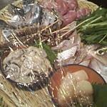 い草製麺所 - 海の幸もいっぱいです♪