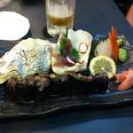 寿司 ゆずの花 - 生ほたるいかセット 1580円
