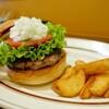 SUN DOVE DINER - 料理写真:ハンバーガー 950円