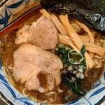 三都屋 - 料理写真:魚粉たっぷりラーメン!(^^