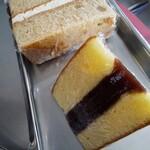 サンモリッツ名花堂 - 「紅茶ケーキ」と「シベリヤカステラ」