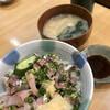菊寿司 - 料理写真:鯵鰯丼