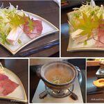 Nippon食の森 あざれあ - ブリしゃぶ。岡崎おうはんのひつまぶし風。