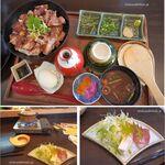 Nippon食の森 あざれあ - 岡崎おうはんのひつまぶし風。