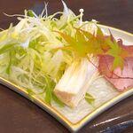 Nippon食の森 あざれあ - ブリしゃぶ。岡崎おうはんのひつまぶし風。Nippon食の森 あざれあ(愛知県岡崎市)食彩品館.jp撮影