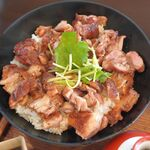 Nippon食の森 あざれあ - 岡崎おうはんのひつまぶし風。Nippon食の森 あざれあ(愛知県岡崎市)食彩品館.jp撮影