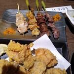 博多串焼き・野菜巻き 串巻きあーと - 唐揚げ