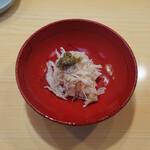 太平寿し - 松葉蟹