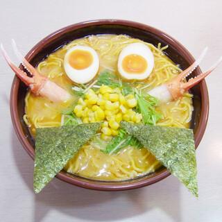 北海道の「カニ」も味わえます