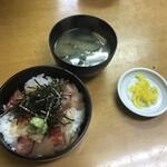 柳橋食堂 - ミニ海鮮丼550円!