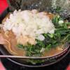 家系ラーメン王道 いしい - 料理写真:チャーシュー麺3枚入り きざみタマネギ、青菜トッピング